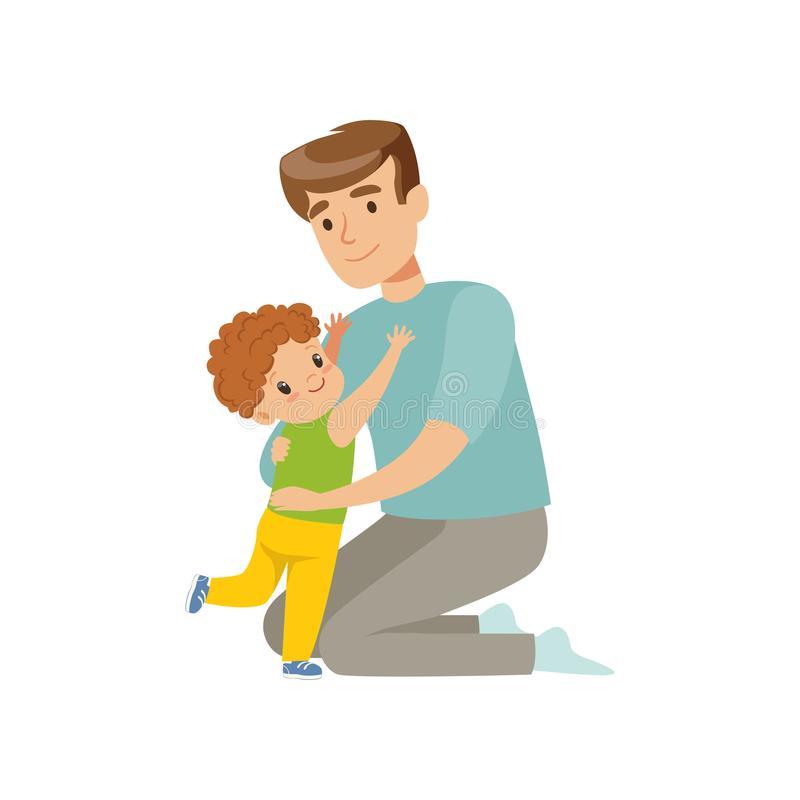 журналы картинки папа и сын рисунки рассказать своему ребенку