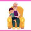 Внук и дед
